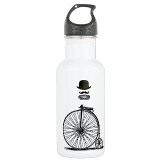 Gentleme's Penny Farthing 532 Ml Water Bottle