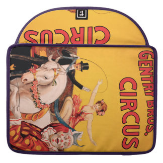 Gentry Bros. Circus Sleeve For MacBooks