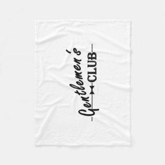 Gents Club Blanket