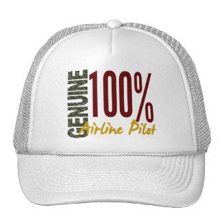 Genuine Airline Pilot Trucker Hat