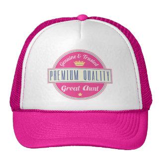 Genuine and Trusted Premium Great Aunt Cap