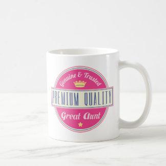 Genuine and Trusted Premium Great Aunt Coffee Mug