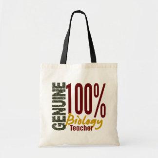 Genuine Biology Teacher Tote Bags