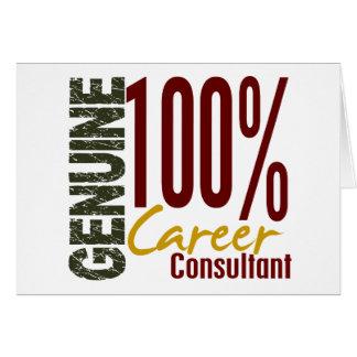 Genuine Career Consultant Cards