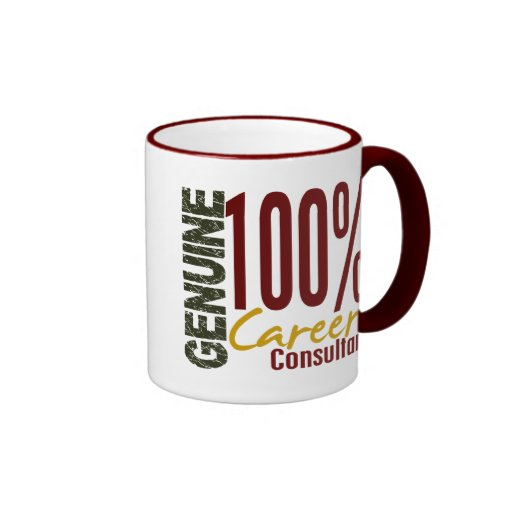 Genuine Career Consultant Mugs