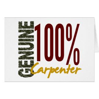 Genuine Carpenter Cards