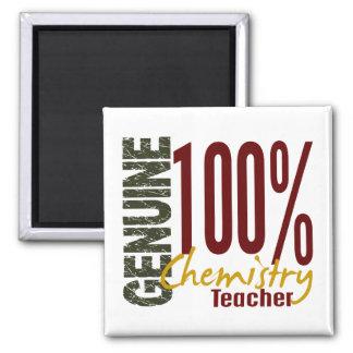 Genuine Chemistry Teacher Fridge Magnets