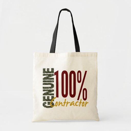 Genuine Contractor Tote Bag