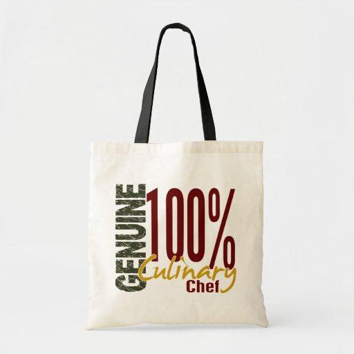 Genuine Culinary Chef Canvas Bags