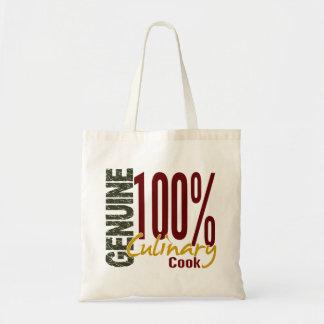 Genuine Culinary Cook Budget Tote Bag
