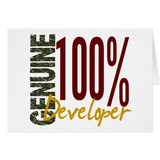 Genuine Developer Cards