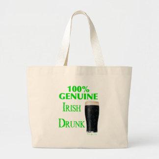Genuine Irish Drunk Tote Bags