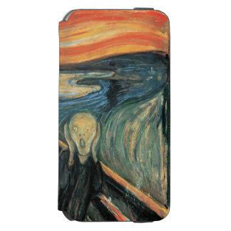 Genuine,Munch,reproduction,the scream,vintage art, Incipio Watson™ iPhone 6 Wallet Case