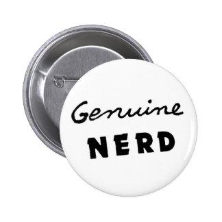 Genuine Nerd Button