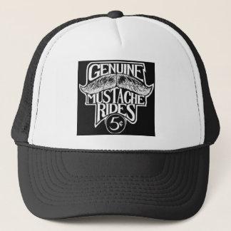 GenuineMustacheRides.jpg Trucker Hat