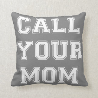 GENYOLO CALL YOUR MOM Pillow CUSTOMIZE COLORS