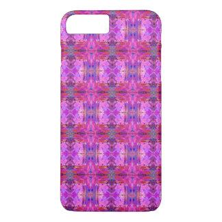 Geo Boho Tribal style pattern purple teal red iPhone 7 Plus Case