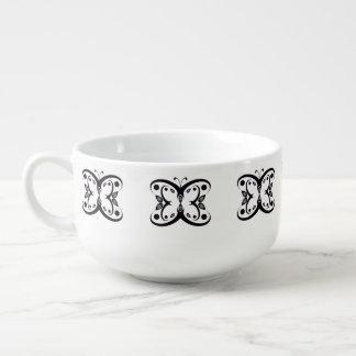 Geo Butterfly Soup Mug