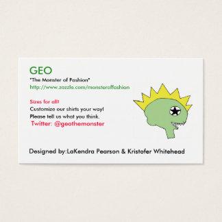 GEO cards