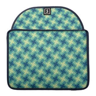 Geo Cross Pattern MacBook Pro Sleeve