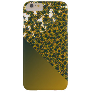 Geo Green and Gold Star Team Spirit Sports Colors iPhone 6 Plus Case