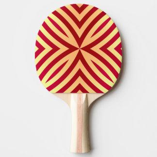 Geo' pattern. ping pong paddle
