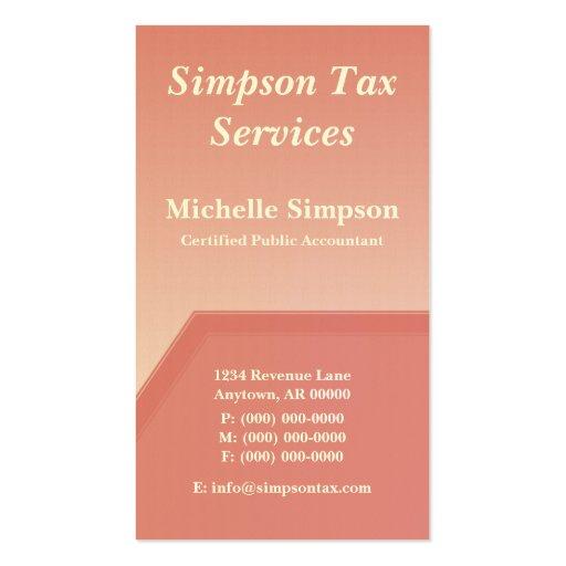 Geo Tech Business Card, Pink Blush