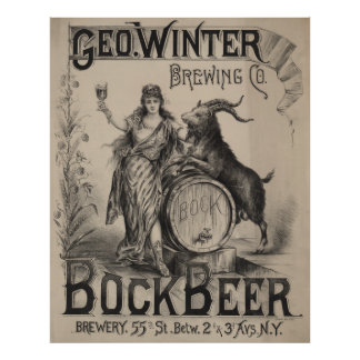Geo. Winter Brewing Co. [1900] Poster