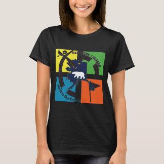 GEOCACHE ALASKA & STATE MOTTO T-Shirt