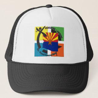 GEOCACHE ARIZONA STATE NICKNAME TRUCKER HAT