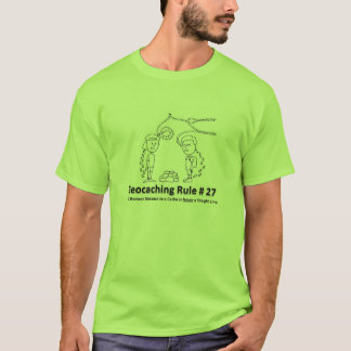 Geocaching DNF - Straight line T-Shirt