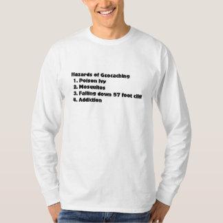 Geocaching hazards list T-Shirt