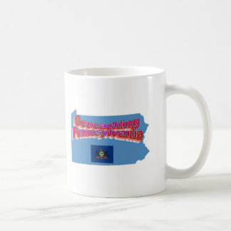Geocaching Pennsylvania Cup Coffee Mug