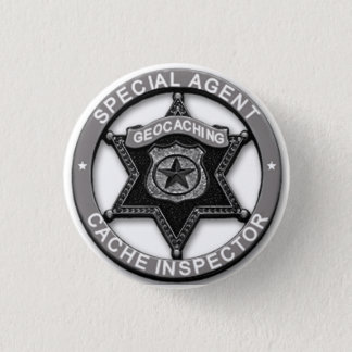 Geocaching *Special Agent* Cache Inspector Badge