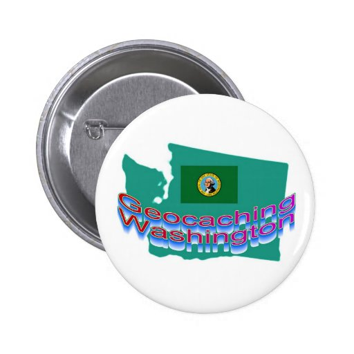Geocaching Washington Button