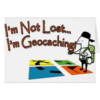 Geocahing Card