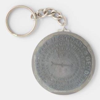 geodetic-survey-marker key ring