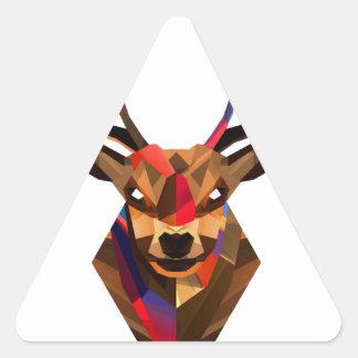 Geoetric Dear Triangle Sticker