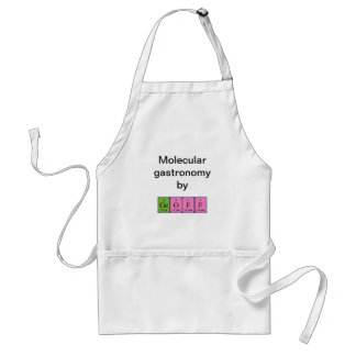 Geoff periodic table name apron
