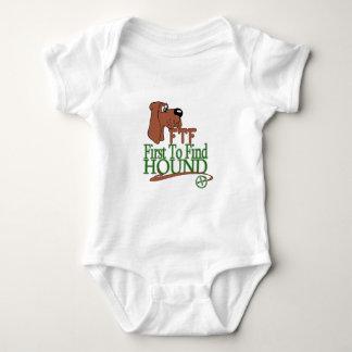 GEOGACHING FTF HOUND BABY BODYSUIT