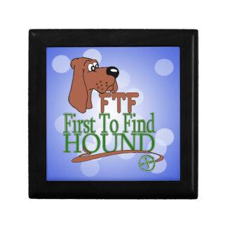 GEOGACHING FTF HOUND SMALL SQUARE GIFT BOX