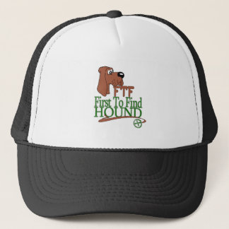 GEOGACHING FTF HOUND TRUCKER HAT