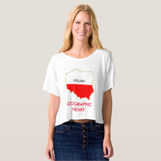 GEOGRAPHIC HEART T-Shirt