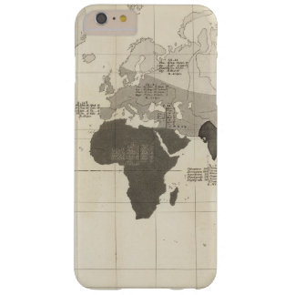 Geographical Distribution of Vegetation Barely There iPhone 6 Plus Case