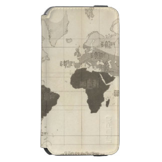 Geographical Distribution of Vegetation Incipio Watson™ iPhone 6 Wallet Case