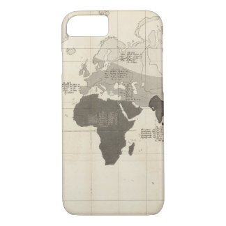 Geographical Distribution of Vegetation iPhone 7 Case