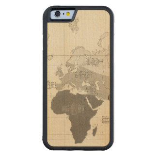 Geographical Distribution of Vegetation Maple iPhone 6 Bumper