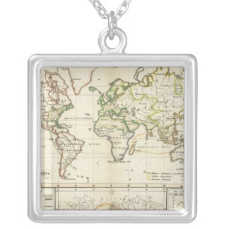 Geographical spread of the human race jewelry