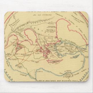 Geographie des Grecs Primitive Mouse Pad