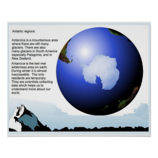 Geography, Antarctic regions Poster